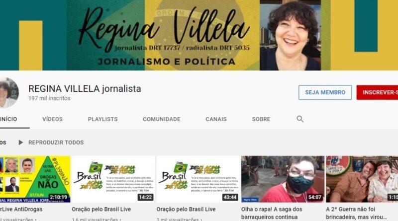A Ordem dos Jornalistas do Brasil vem publicamente manifestar solidariedade à colega Regina Villela